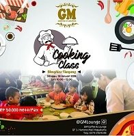 "Cooking Class ""Menghias Tumpeng"""
