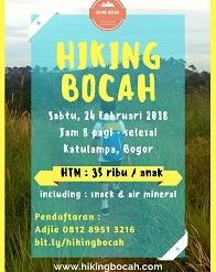 Hiking Bocah
