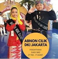 Abang None Cilik DKI Jakarta 2018