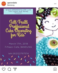 Tutti Fruitti Proffesional Cake Decorating for Kids