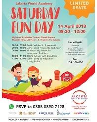 Saturday Fun Day with Jakarta World Academy