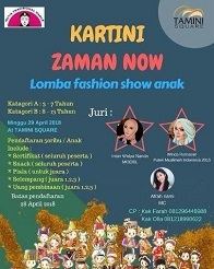 Lomba Fashion Show di Tamini Square