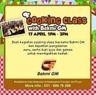 Cooking Class Bersama Bakmi GM