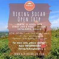 Hiking Bocah Open Trip