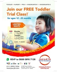 Join Our Free Toddler Trial Class