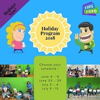 KodeKiddo Holiday Program
