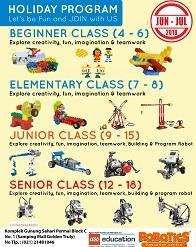 Robotics Holiday Program 2018