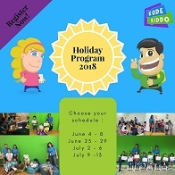 Coding Holiday Program with KodeKiddo
