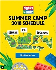 Summer Camp 2018 with Bricks 4 Kidz