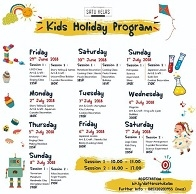 Kids Holiday Program with Satu Kelas