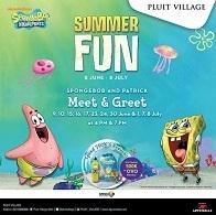 Meet & Greet with Spongebob & Patrick