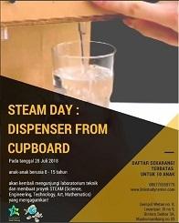 Steam Day: Dispenser From Cupboard