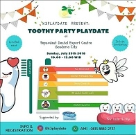 Toothy Party Playdate