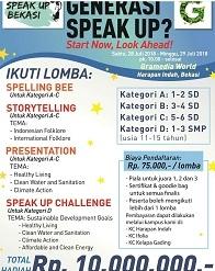 Speak Up Bekasi