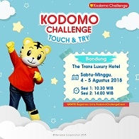 Kodomo Challenge Touch & Try