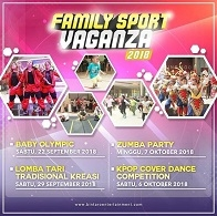 Family Sport Vaganza 2018 at Bintaro Entertainment Center