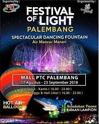 Festival Of Light Palembang 2018