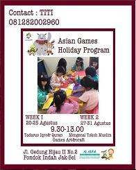 Asian Games Holiday Program with Al Atfal Islamic Center