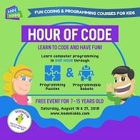 Hour Of Code - Free Event with KOdeKiddo