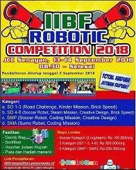 IIBF Robotic Competition 2018