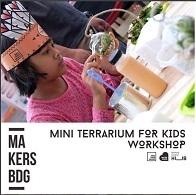 Mini Terrarium For Kids Workshop