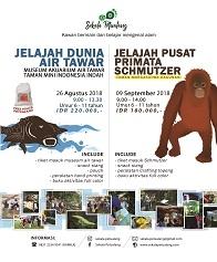 Jelajah Dunia Air tawar dan Jelajah Pusat Primata Schmutzer
