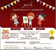 Coloring, Fashion Show & Singing Competition at Asya Marketing Gallery