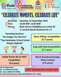 Celebrate Moments, Celebrate Life at Mall Bassura