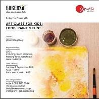 Art Class For Kids: Food, Paint & Fun