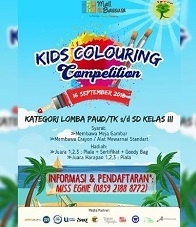 Kids Colouring Competition at Mall Bassura
