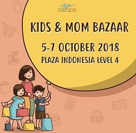 Kids and Mom Bazaar at Plaza Indonesia