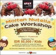 Molten Nutella Cake Workshop