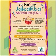 Seharian Jakarta Mendongeng