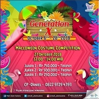 Halloween Costume Competition at Mall Alam Sutera