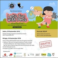 Let's Fun With Pets at Scientia Square Park