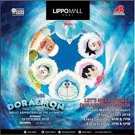 Let's Meet & Greet Doraemon & Nobita at Lippo Mall Puri