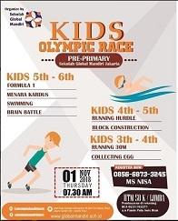 Kids Olympic Race at Sekolah Global Mandiri Jakarta