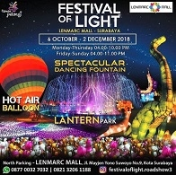 Festival of Light di Lenmarc Mall
