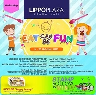 Eat Can Be Fun at Lippo Plaza Kramat Jati
