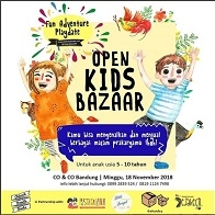 Open Kids Bazaar at CO & CO Bandung