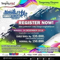 Tangerang Family Run 2018 di TangCity Mall