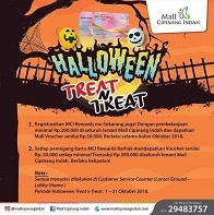 Halloween Treat n Treat at Mall Cipinang Indah