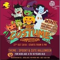 Kids Costume Competition at Scientia Square Park