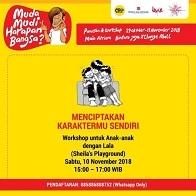 Workshop Untuk Anak di Bintaro Jaya Xchange Mall