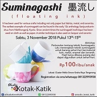 Suminagashi with Studio Kotak-Katik