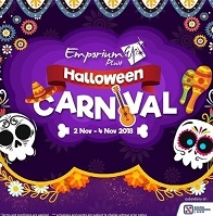 Carnival Halloween at Emporium Pluit Mall