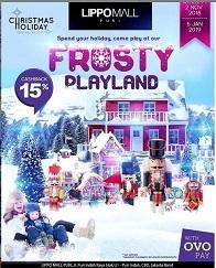 Frosty Playland at Lippo Mall Puri
