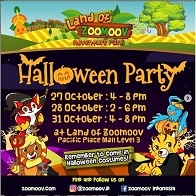Halloween Party with Zoomoov at Pacific Place