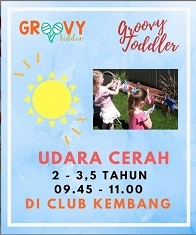 Groovy Toddler at Club Kembang
