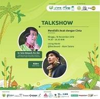 "Talkshow ""Mendidik Anak Dengan Cinta"" di Living World Alam Sutera"